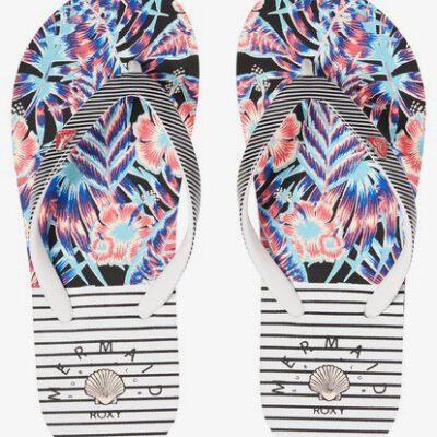 Sandalias ROXY Chanclas goma playa niña Pebbles Flip-Flops (WBF) Ref. ARGL100182 Estampadas multicolor