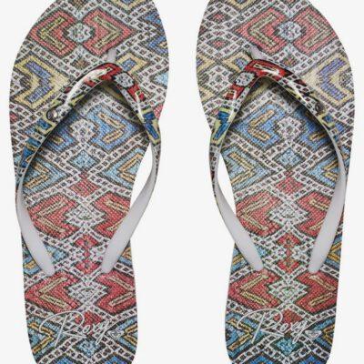 Sandalias ROXY Chanclas goma dedo playa Mujer Portofino MULTI (mul) Ref. ARJL100551 étnica multicolor