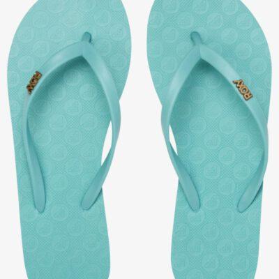 Sandalias ROXY Chanclas goma dedo playa Mujer Viva BLUE CURACAO (buu) Ref. ARJL100663 azul agua lisa