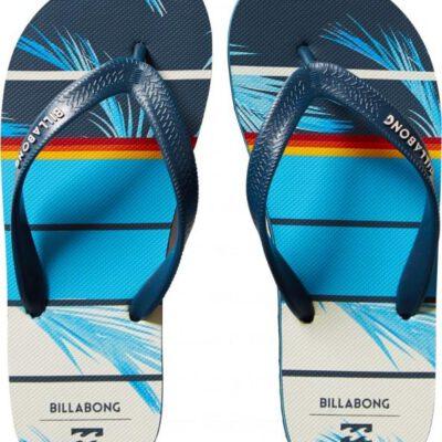 Sandalias BILLABONG Chanclas goma playa Hombre Tides Spinner Navy floral Ref. BIC5FF23 azul flores