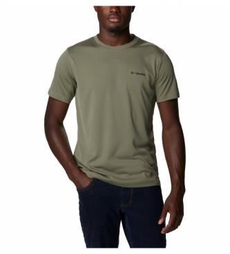 Camiseta COLUMBIA manga corta técnica deporte hombre Zero Rules™ Stone Green Ref. 1533313397 verde oliva