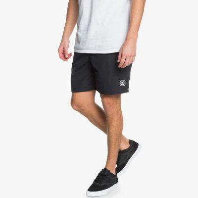 "Pantalón corto DC Shoes chándal SHORT ELÁSTICO hombre NAHMAS DAY 18"" BLACK (kvj0) Ref. EDYWS03152 negro"