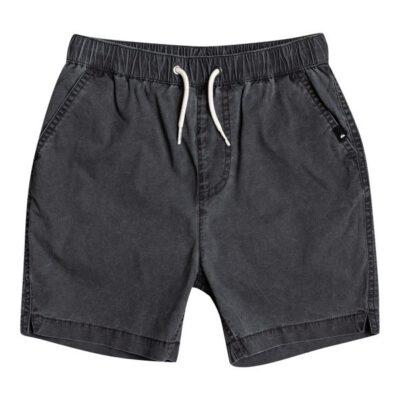 Pantalón corto niño QUIKSILVER Short elástico Taxer BLACK (kvj0) Ref. EQBWS03330 negro