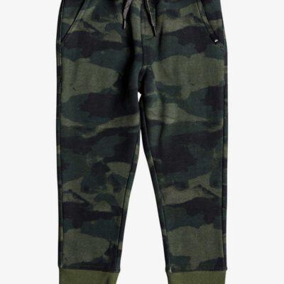 Pantalón Chándal QUIKSILVER ajustado niño deportivo Toko Bear Ref. EQKFB03071 verde camuflaje