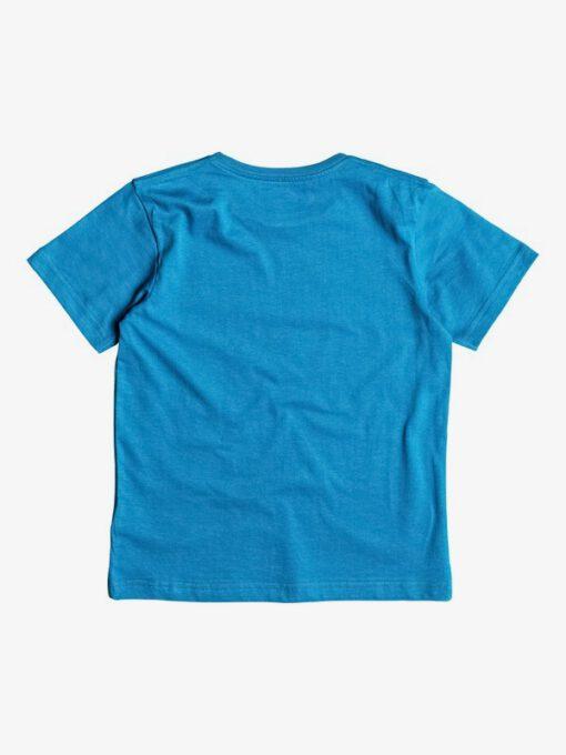 Camiseta QUIKSILVER manga corta niño surfera Classic Magic Volcano Navy (byh0) Ref. EQKZT03080 azul logo pecho