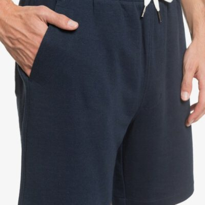 "Pantalón corto QUIKSILVER Short chándal hombre Essentials 19"" NAHMAS DAY 18"" BLACK (kvj0) Ref. EQYFB03206 Azul marino liso"