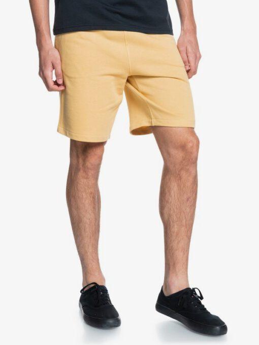 "Pantalón corto QUIKSILVER Short chándal hombre Essentials 19"" RATTAN (yhp0) Ref. EQYFB03206 Amarillo claro liso"