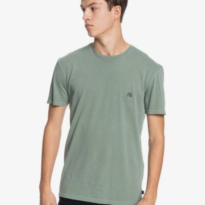 Camiseta Hombre QUIKSILVER manga corta tejido orgánico Basic Bubble BLUE SPRUCE (bpl0) Ref. EQYZT06368 verde