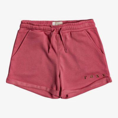 Pantalón corto ROXY Short de felpa con tejido orgánico para niña Be My Life B BROOK DESERT ROSE (mkq0) Ref. ERGFB03193 rosa