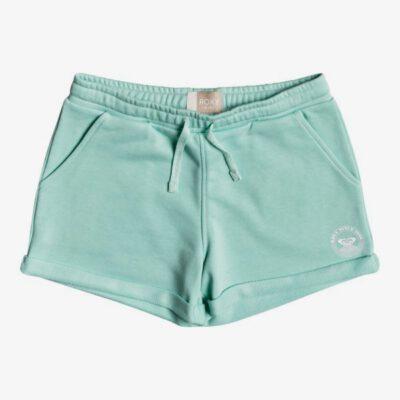 Pantalón corto ROXY Short de felpa con tejido orgánico para niña Be My Life B BROOK GREEN (gcf0) Ref. ERGFB03194 verde agua