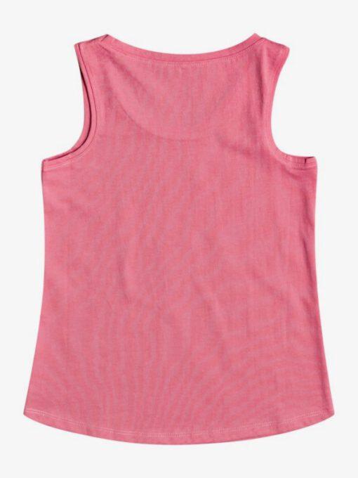 Camiseta ROXY niña tirantes There Is Life DESERT ROSE (mkq0) Ref. ERGZT03751 rosa logo pecho