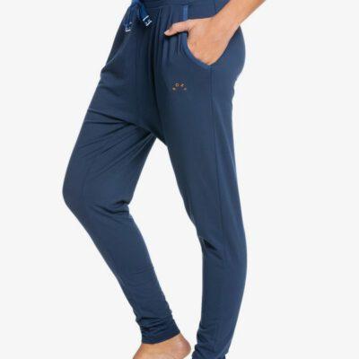 "Pantalón de Chándal ROXY de entrenamiento gym para Mujer Jungle Roots 6"" MOOD INDIGO (bsp0) ERJNP03381 Azul"