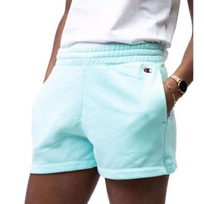 Pantalón corto CHAMPION Short mujer cintura elástica racer SHORTS Blue Ref. 113938 azul agua
