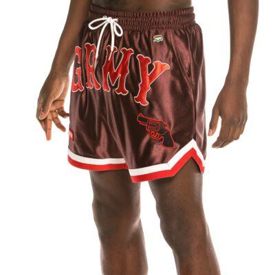 "Pantalón corto GRIMEY UNISEX SWEATSHORTS basket ""The Loot"" - Brown | Spring 21 Ref. GRS145-BRW marrón"