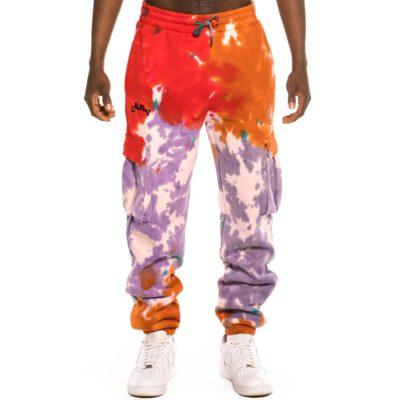 Pantalón deportivo GRIMEY cómodo UNISEX Liveution Magic 4 Resistance - Tie Dye   Spring 21 Ref. GRTS204-TDE multicolor