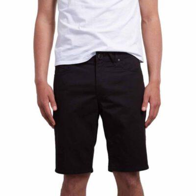 Pantalón corto VOLCOM bermudas tejanas para Hombre SOLVER DENIM SHORT - BKO Ref. A2011701 negro tejano Nueva colección