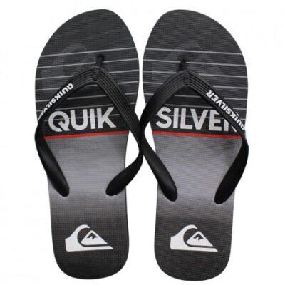 Sandalias QUIKSILVER Chanclas goma playa Hombre Molokai Highline Slab Black/Grey (xkks) Ref. AQYL100792 gris