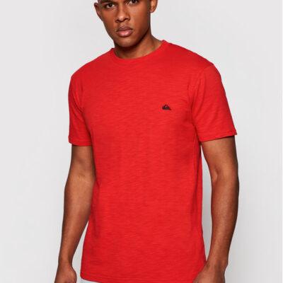 Camiseta Hombre QUIKSILVER manga corta Witton Red (rqc0) Ref. EQYZT04118 roja básica logo
