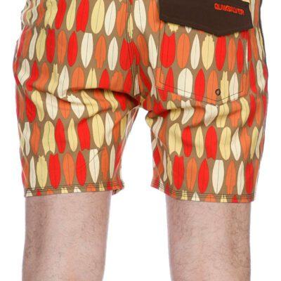 Bañador QUIKSILVER Short elástico para Hombre ELLIPSIS 16 BS Ref. KRMBS121 rojo tablas surf