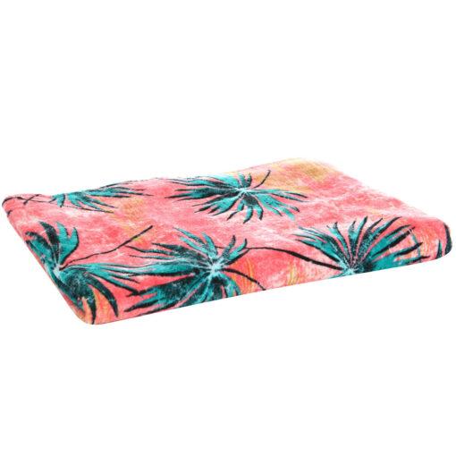 Toalla BILLABONG playa/piscina estampada terciopelo suave Lie Down Coral Bay Ref. N9TO03 Multicolor palmeras