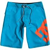 Bañador DC SHOES surfero niño Short elástico januari (bnzo) Ref. 73810035 azul turquesa logo naranja