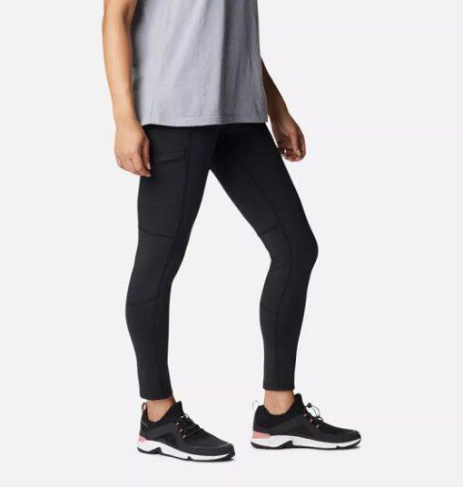 Legging Deportivo COLUMBIA Mujer Mallas Windgates™ II Black Ref. 1981561010 negro con bolsillo lateral