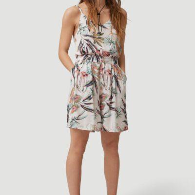 Pantalón corteo O'NEILL fluido y cómodo para Mujer GLOBAL PRINT SHORTS White/Green Ref. 1A7522 Blanco/Verde flores