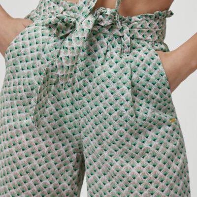 Pantalón fluido O'NEILL práctico y cómodo para Mujer PANTS ALL OVER PRINT Green Ref. 1A7750 verde estampado