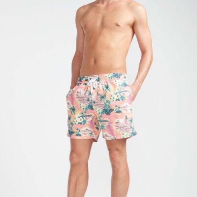 Bañador BILLABONG Short elástico para Hombre Sunday Pigment Neo red Ref. N1LB17 Paisaje playa