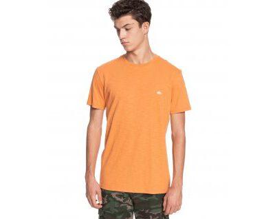 Camiseta QUIKSILVER Hombre manga corta Witton orange (NLF0) Ref. EQYZT04118 naranja básica logo