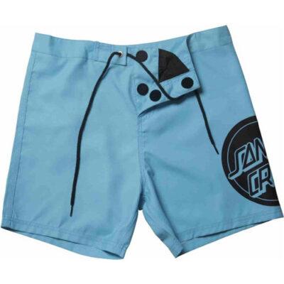 Bañador SANTA CRUZ surfero Hombre Short elástico REVERSE DOT B / SHORT CYAN Ref. SCBSR16 Azul