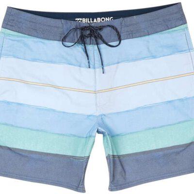 Bañador BILLABONG surfero niño Short elástico STRINGER RESIN Ref. H1BS25 multicolor verde/azul