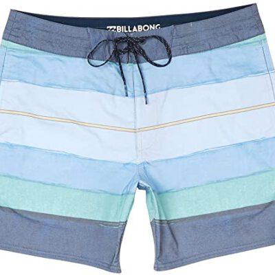 Bañador BILLABONG Short elástico para Hombre Stringer resin lt 16 green Ref. H1BS25 Rayas verde/azul