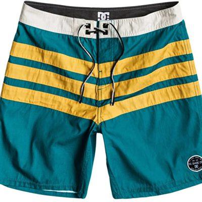 Bañador DC Shoes surfero Hombre Short elástico Hamilton Boardshort (brvo) Ref. ADYBS00051 verde/amarillo