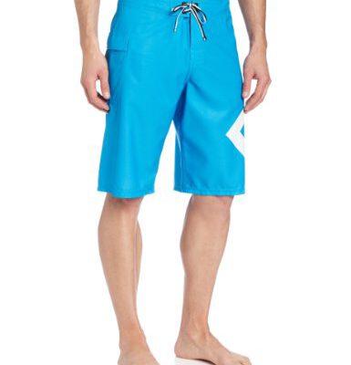 Bañador DC SHOES surfero hombre Short elástico LANAI blue (brblu) Ref. D052810033 azul logo pierna blanco