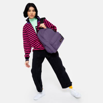 MOCHILA EASTPAK Padded Zippl'r con bolsillo portátil 24l. EK0A5B74K31Grape Purple lila/morado lisa