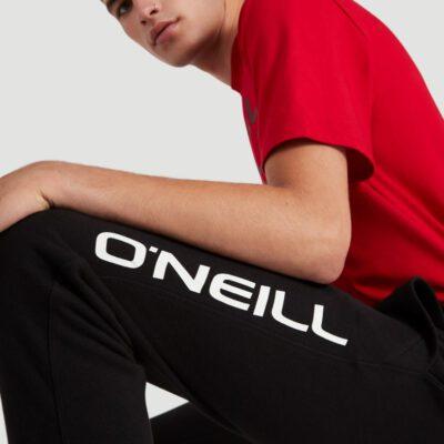 Pantalón chándal O'NEILL largo para hombre SWEATPANTS MEN black Out Ref. N02701 Negro logo pierna