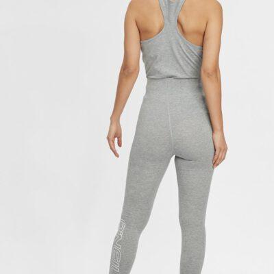 Legging Deportivo O'NEILL Mujer GYM HIGH WAIST LEGGING Silver Melee Ref. N07702 gris claro logo pierna