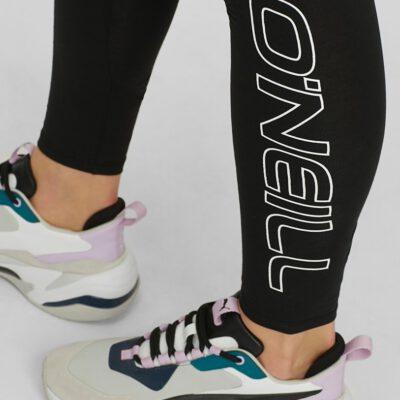 Legging Deportivo O'NEILL Mujer GYM HIGH WAIST LEGGING Black Out Ref. N07702 negro logo pierna