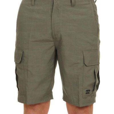 Bermuda corta BILLABONG Short bolsillos laterales para Hombre Scheme Submersible MILITARY Ref. S1WK28BIP0 verde militar