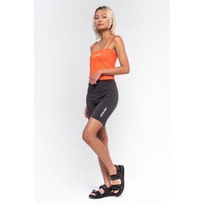 Legging corto SANTA CRUZ deportivo Strip legging short Black Wash Ref. SCA-WSH-0167 Negro logo pierna