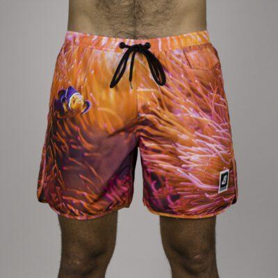 Bañador corto HYDROPONIC para hombre BOARDSHORT ANEMONE 16'' Orange Ref. 17089 naranja Nemo Pez