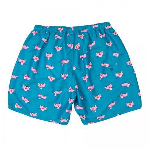 Bañador corto HYDROPONIC para niño BOARDSHORT KIDS PINK 16'' LAKE BLUE Ref. BS004Y-01 Azul pantera rosa