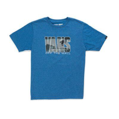 Camiseta manga Corta niño VANS by push through boys CARDINAL REF. VA318R4O2 Azul Royal heather