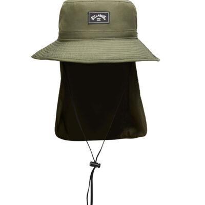 Sombrero BILLABONG gorro de copa Safari Adiv Big John MILITARY Ref. W5HT03BIP1 verde militar