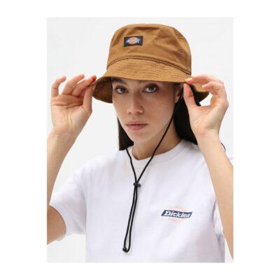 Sombrero DICKIES gorro de copa pescador Clarks Grove Brown duck Ref. DK0A4XE7aBD01 mostaza