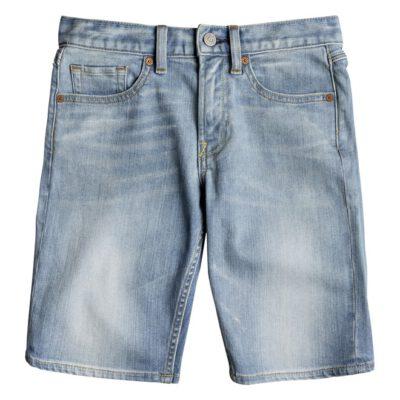 Pantalón corto DC Short Vaquero niño WORKER LIGHT INDIGO BLUE Ref. EDBDS03014 azul tejano