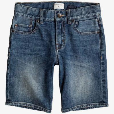 Pantalón corto QUIKSILVER Short Vaquero niño Revolver Sky MIDDLE SKY (bsww) Ref. EQBDS03045 azul tejano