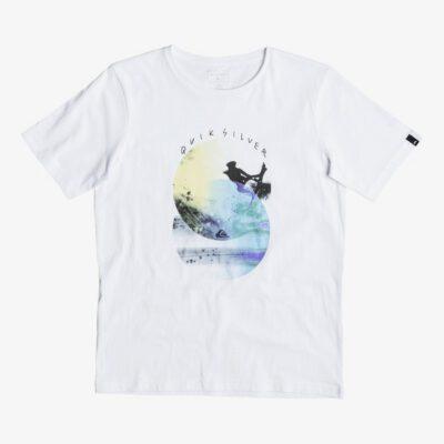 Camiseta QUIKSILVER manga corta niño Classic Bubble WHITE (wbb0) Ref. EQBZT003468 blanca