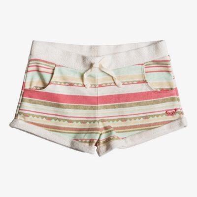 Pantalón corto ROXY short chándal corte holgado niña Takapoto BEACH GLASS GIRL STRI (gcz3) Ref. ERGFB03034 multicolor étnico